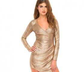 FASHION V-NECK SEXY TIGHT DRESS FF5FJ