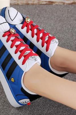 Cute Shell-toe Flats Sneakers Sport Shoes 66071IF